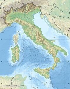 Italien Karte Absage