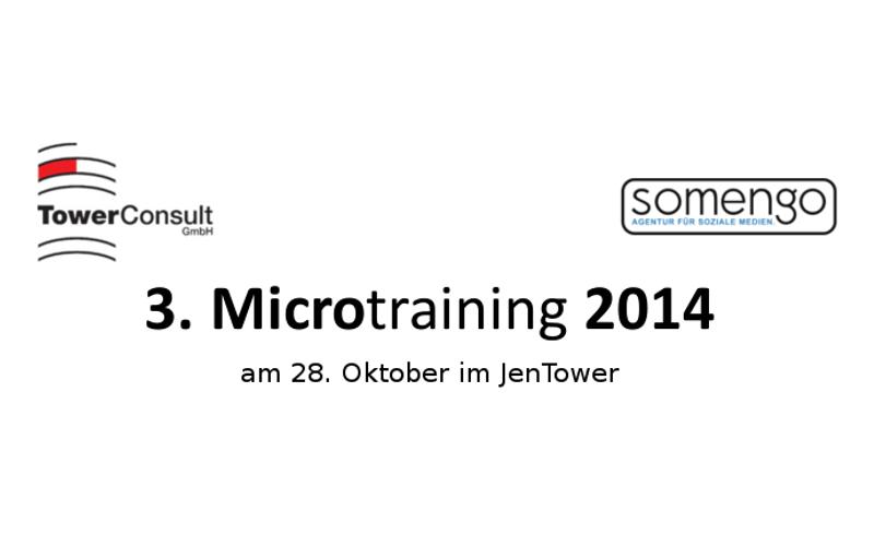 3.Microtraining2014_Bewerberblog