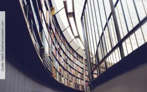 Lebenslanges Lernen, Bibliothek, Quelle: Patrik Goethe/unsplash.com