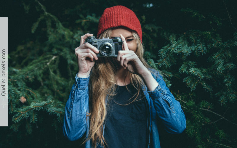 Bewerbungsfoto, Quelle: pexels.com