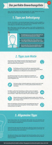 Bewerbungsfoto Infografik