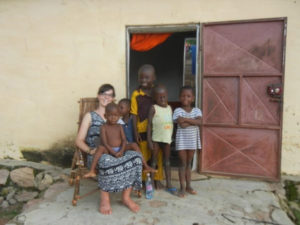 Sarah in Benin