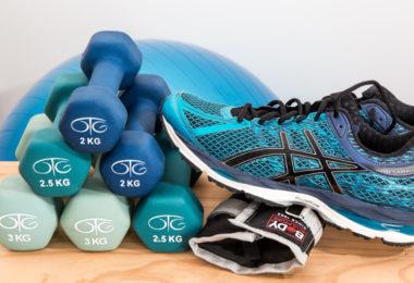 Gesundheitstag_Sportutensilien